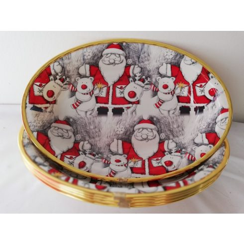 Kicsi karácsonyi kínáló tál
